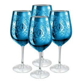 Brocade Goblet in Blue