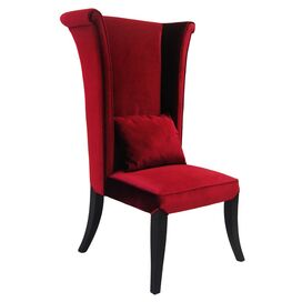 Hatter Side Chair in Red