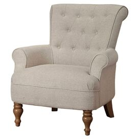 Armen Living Hudson Arm Chair