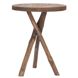 Jude End Table in Brown