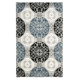 Tenby Rug in Gray