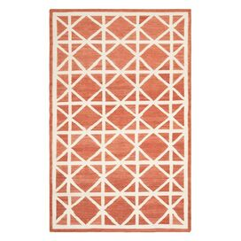 Diamante Rug in Red