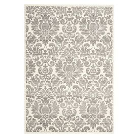 Martens Rug in Gray and Ivory