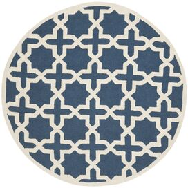 Port Royal Rug in Navy Blue