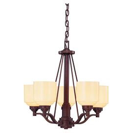 Wilmont 5-Light Chandelier in English Bronze