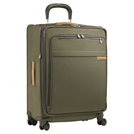 "Briggs & Riley 24"" Spinner Suitcase in Olive"