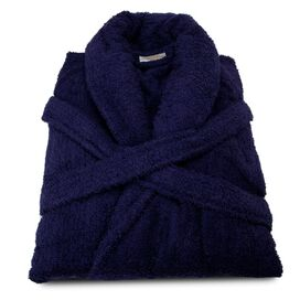 Nimbus Bathrobe in Navy Blue
