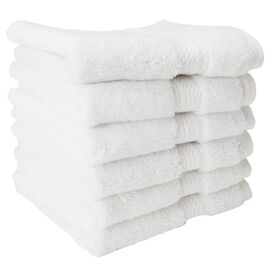 Seneca Washcloth in White