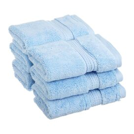 Seneca Washcloth in Light Blue