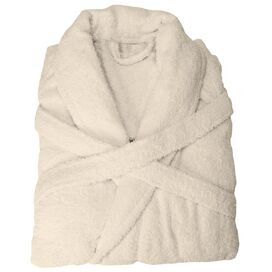 Nimbus Bathrobe in Ivory