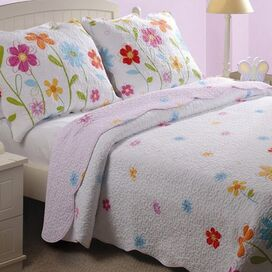 Growing Flowers Quilt Set