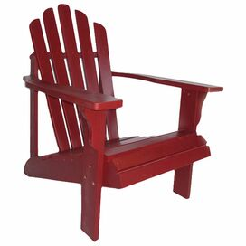 Westport Indoor/Outdoor Adirondack Chair in Cherry Red