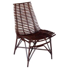 Franklin Side Chair in Dark Brown