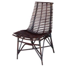 Franklin Side Chair in Antique Black