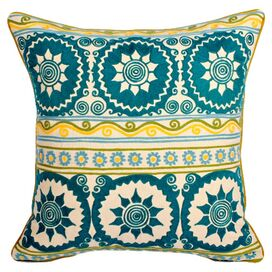 Aztecean Circle Pillow