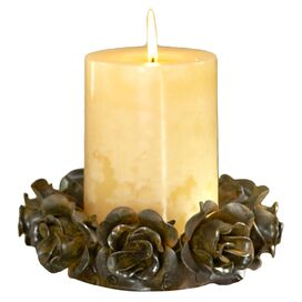 Vin Rose Candle Dish