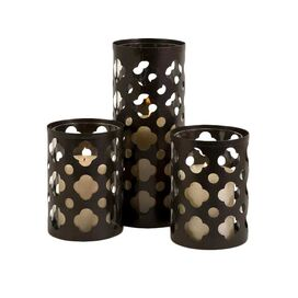 3 Piece Norte Votive Holder Set