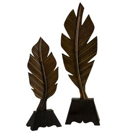 2-Piece Leaf Decor Set