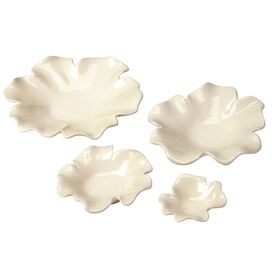 4 Piece Magnolia Plate Set