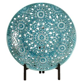 Lopez Decorative Plate with Stand