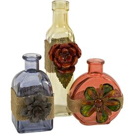 3 Piece Ingram Bottle Décor Set