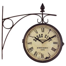 Train Station Wall Clock