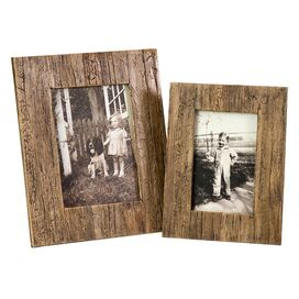 2 Piece Havana Picture Frame Set