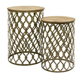 2 Piece Maridell Nesting Table Set