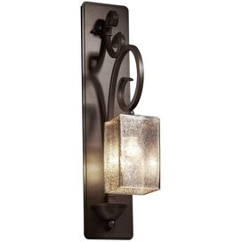 Fusion Victoria Wall Sconce in Dark Bronze