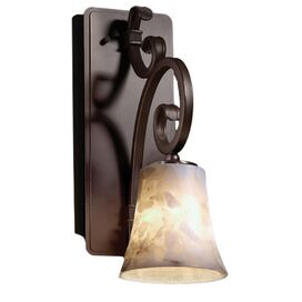 Alabaster Rocks Wall Sconce