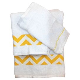 6 Piece Chevron Towel Set