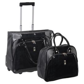2 Piece Flowers Luggage Set