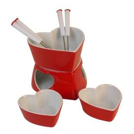 9 Piece Lovely Fondue Set