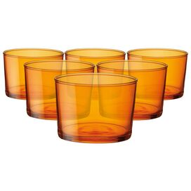 Bodega Mini Tumbler in Orange - Set of 6