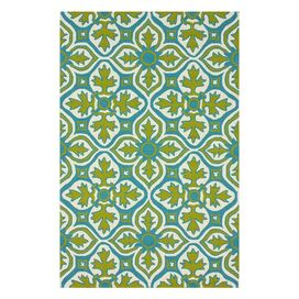 Frida Indoor/Outdoor 5' x 8' Rug in Lime