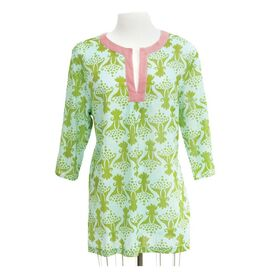 Tulip Green Tunic