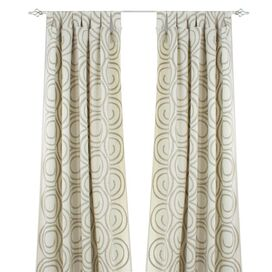 Outlook Curtain Panel in Parchment