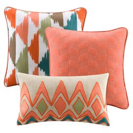 3 Piece Alana Pillow Set
