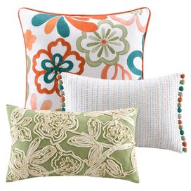 3 Piece Martinique Pillow Set