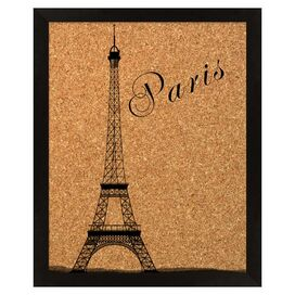 Eiffel Tower Corkboard