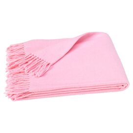 Assiro Throw in Pink