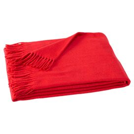 Assiro Throw in Red
