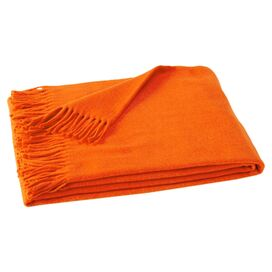 Assiro Throw in Tangerine