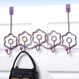 Blooms Over-the-Door Rack