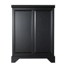 Alexandria Bar Cabinet in Black