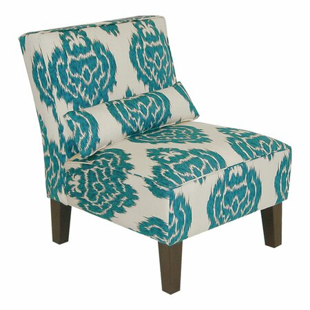 Accent Chairs  Living Room on Accent Chair In Diamonds Teal   Skyline Furniture On Wayfair