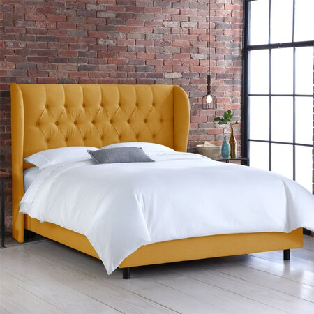 Ava Bed in French Yellow