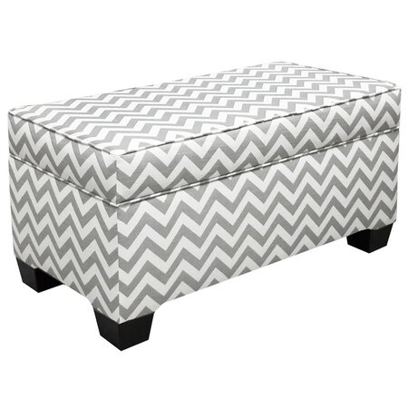 Chevron Storage Bench