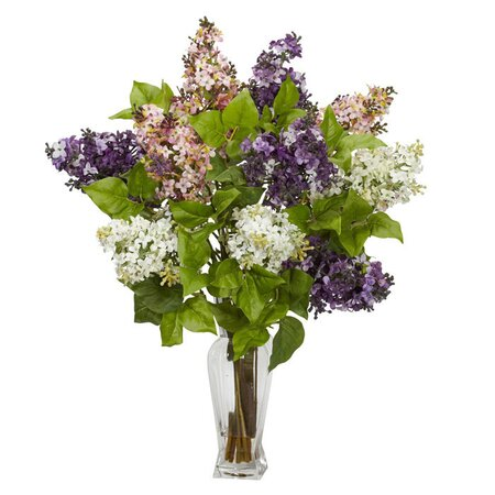 Silk Lilac Arrangement