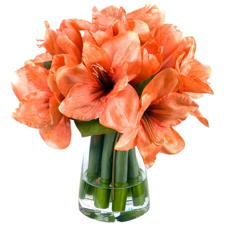 Faux Amaryllis Arrangement II